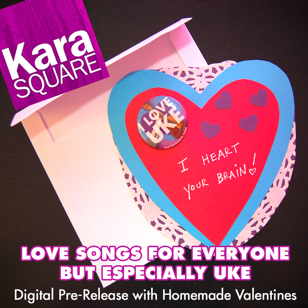 Kara Square Valentine Album Cover